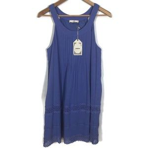 Entro Halter Dress with Embroidery